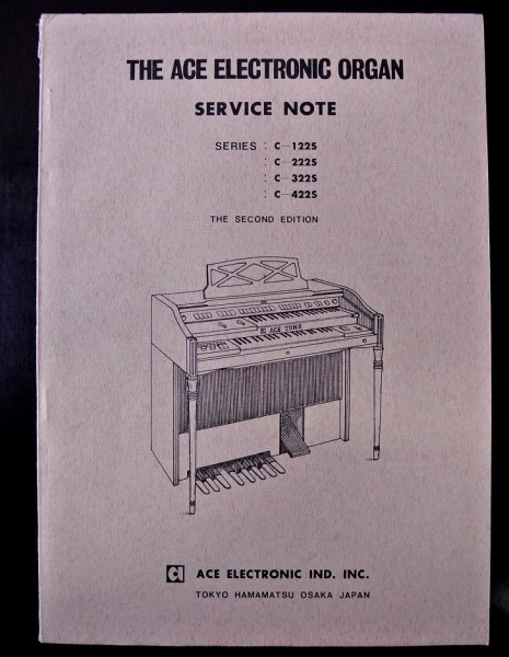 The ACE Electronic Organ Service Note