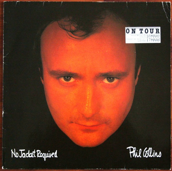 Phil Collins No Jacket Required 1985