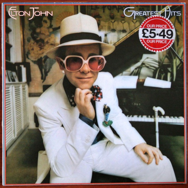 Elton John, Greatest Hits 1974 UK-Pressung