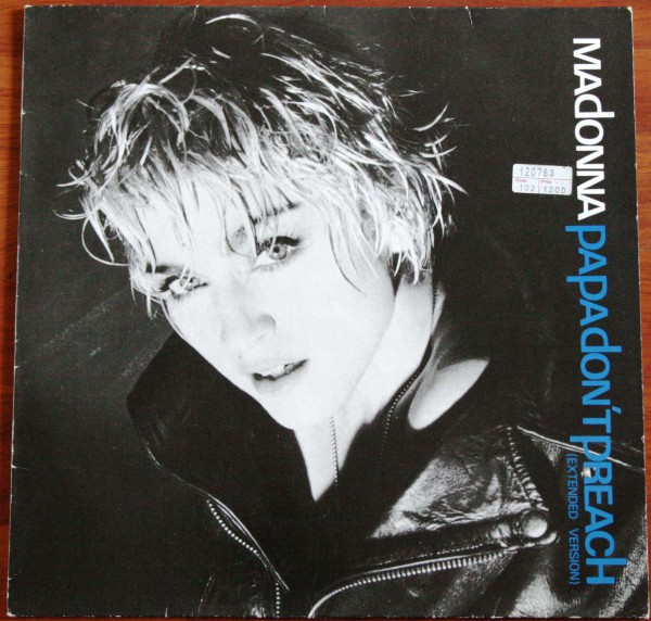 Madonna Papa don't Preach (Extended Version) 1986